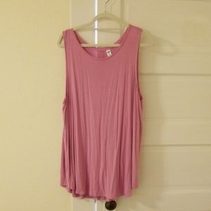 Old Navy XXL Plus Size Pink Luxe Tank Top